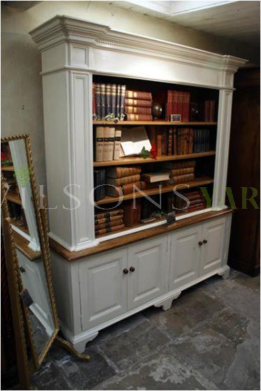 Bespoke kitchen dresser / bookcase