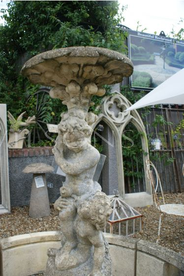 Ex Display Putti Fountain with 1.8 pool surround