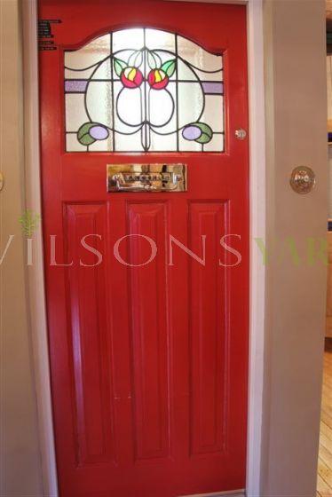 1930's style glazed door