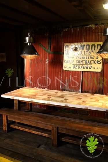 Large Urban Industrial Table
