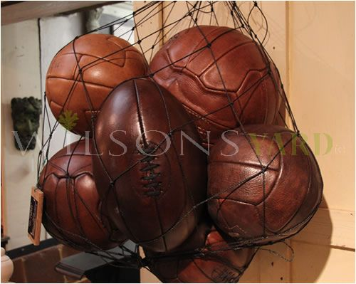 Leather Footballs & Rugby Balls
